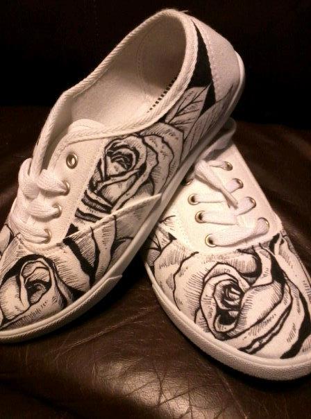 Drawn shoe personalized $55 one (Drawn 00 kind