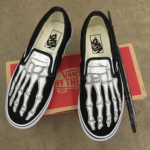 Drawn shoe personalized B Your hand shoes Shoes
