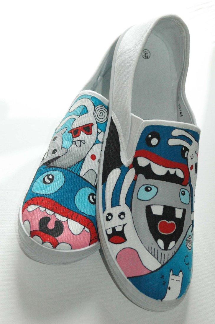 Drawn shoe personalized 19 Inspiring and Custom Custom