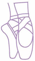 Drawn shoe pointe shoe Shoes images embroidery Ballet Ballet