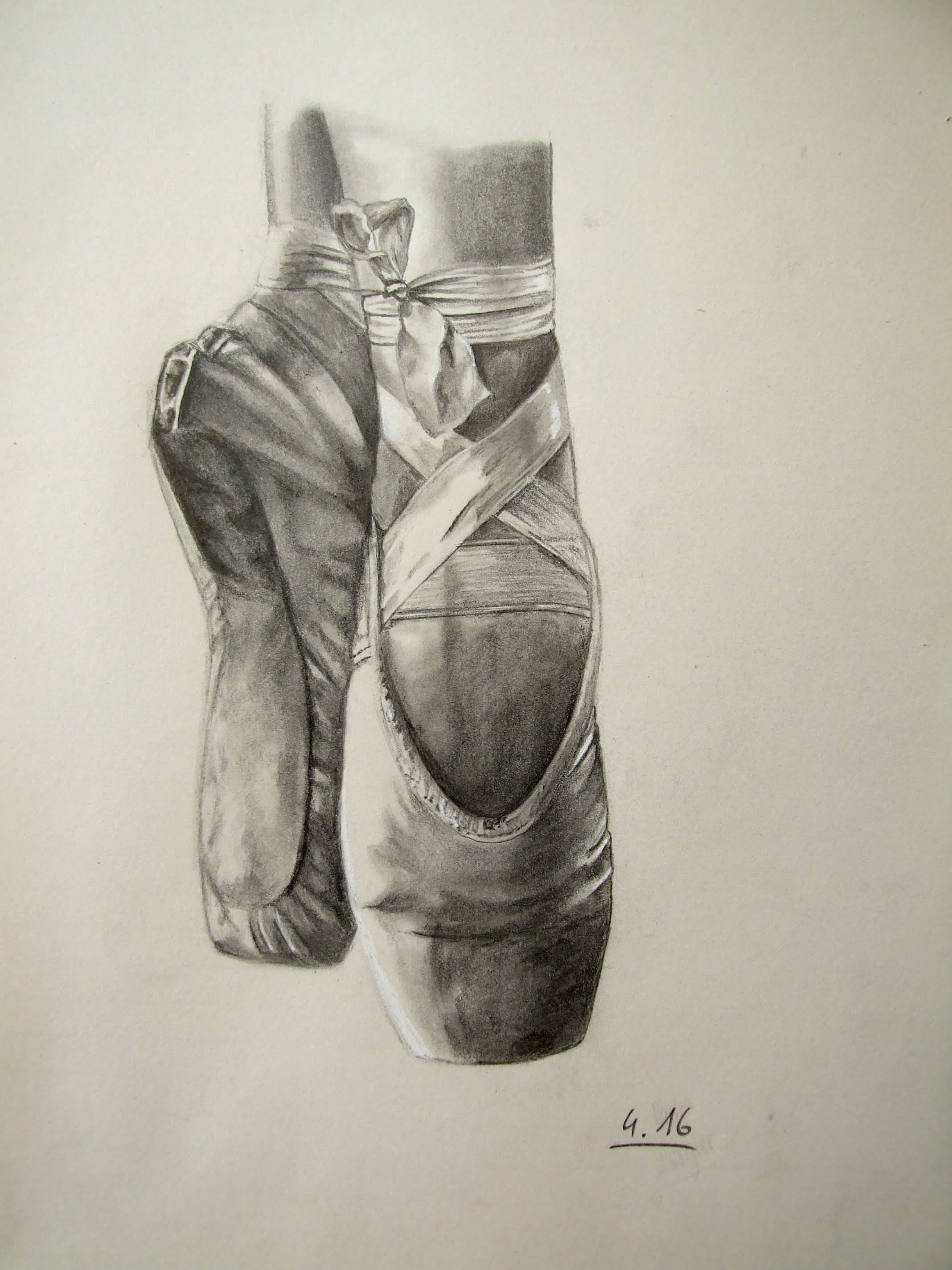 Drawn shoe pointe shoe Pointe Shoes Speed Pointe Drawing: