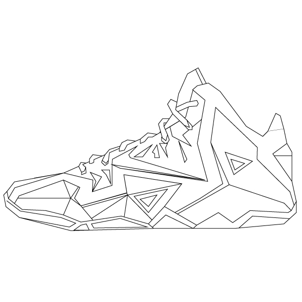 Drawn shoe puma Favourite my sneakers line sneakers