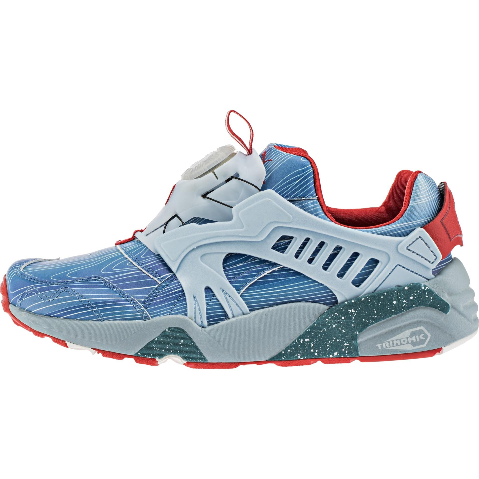 Drawn shoe puma Blaze x ShopNiceKicks Cyan Edt