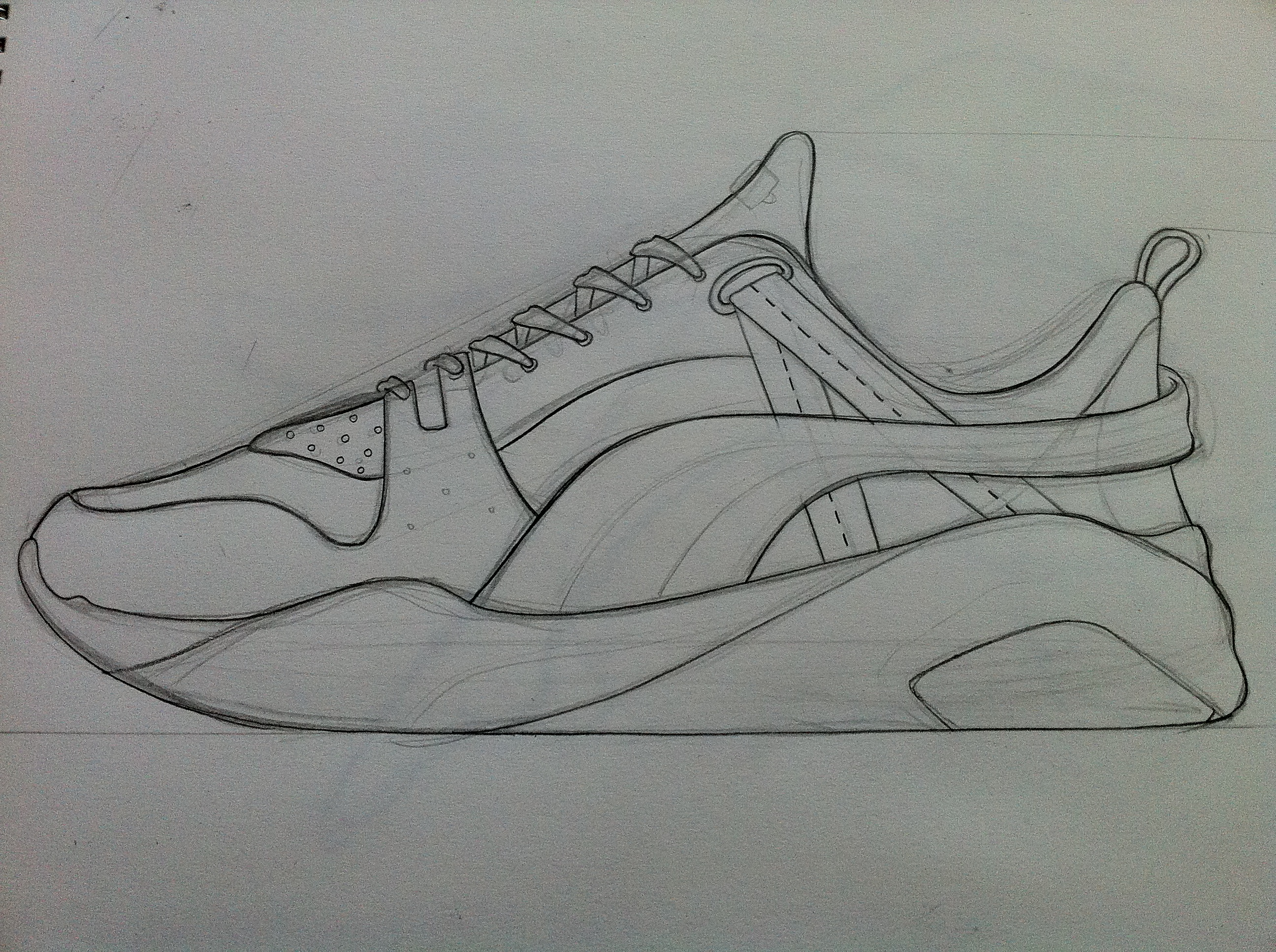 Drawn shoe puma By inspired own Ronnie Sketch
