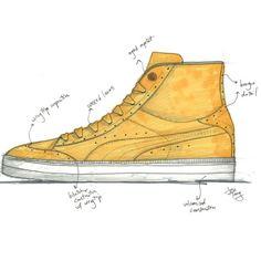 Drawn shoe puma Force #shoes Drawings #PUMA Air