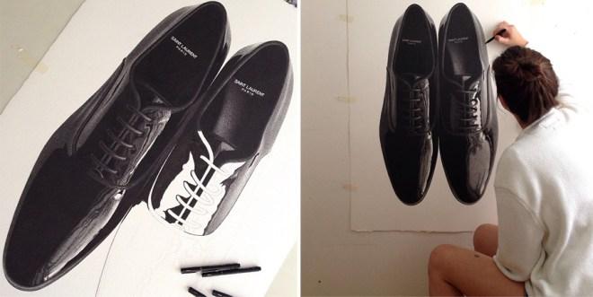 Drawn shoe realistic CJ Artist: Hendry by Photorealistic
