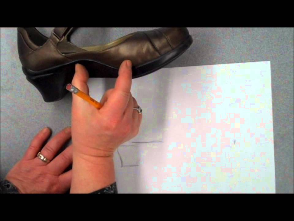 Drawn shoe realistic And your and shoe shading