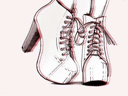 Drawn shoe sapatos Shoes Shoes muitos Pin outros