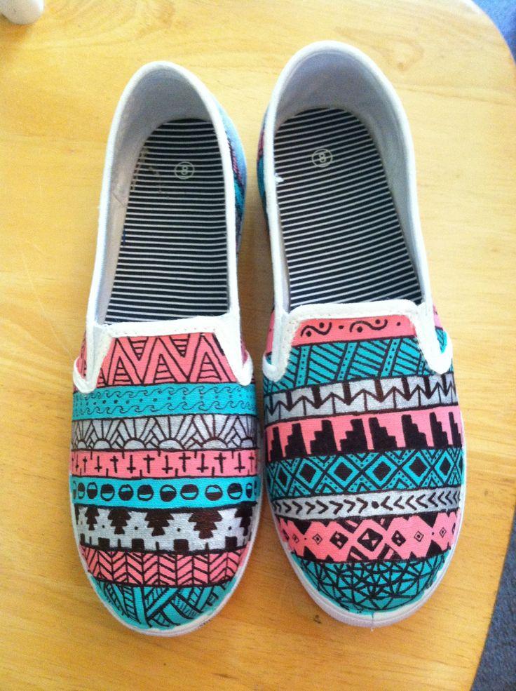 Drawn shoe sharpie Best on ideas 20+ painted