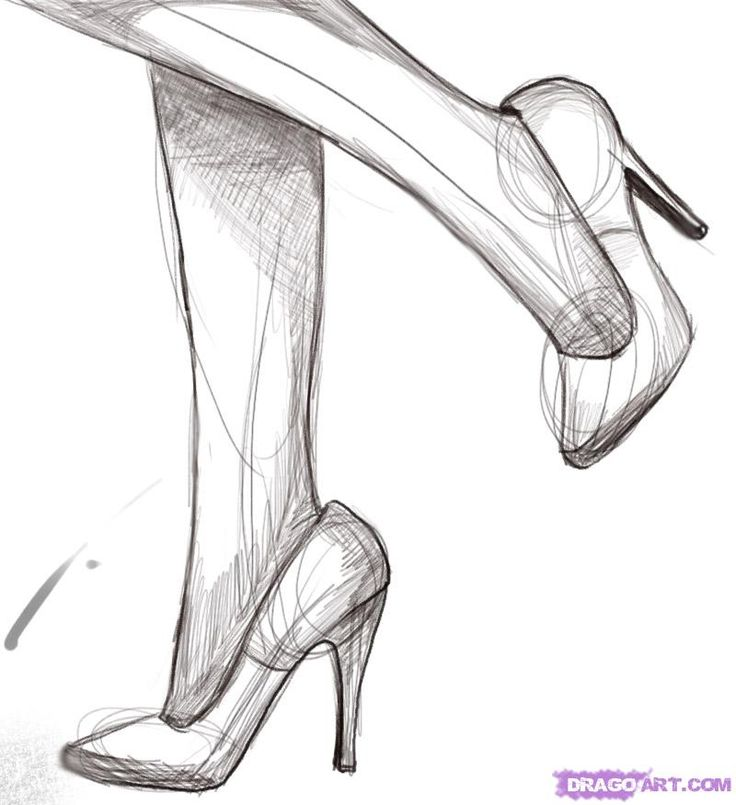 Drawn shoe simple More draw Best on on