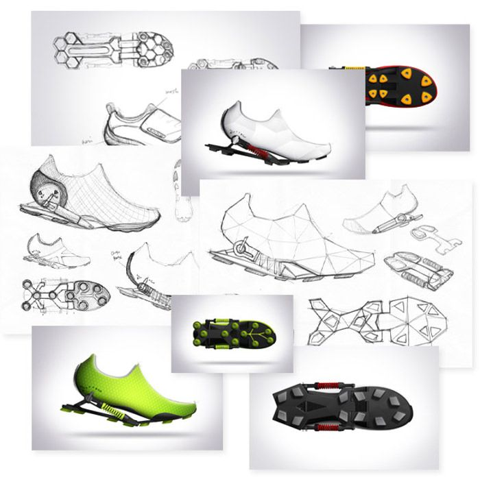Drawn shoe sport shoe #10