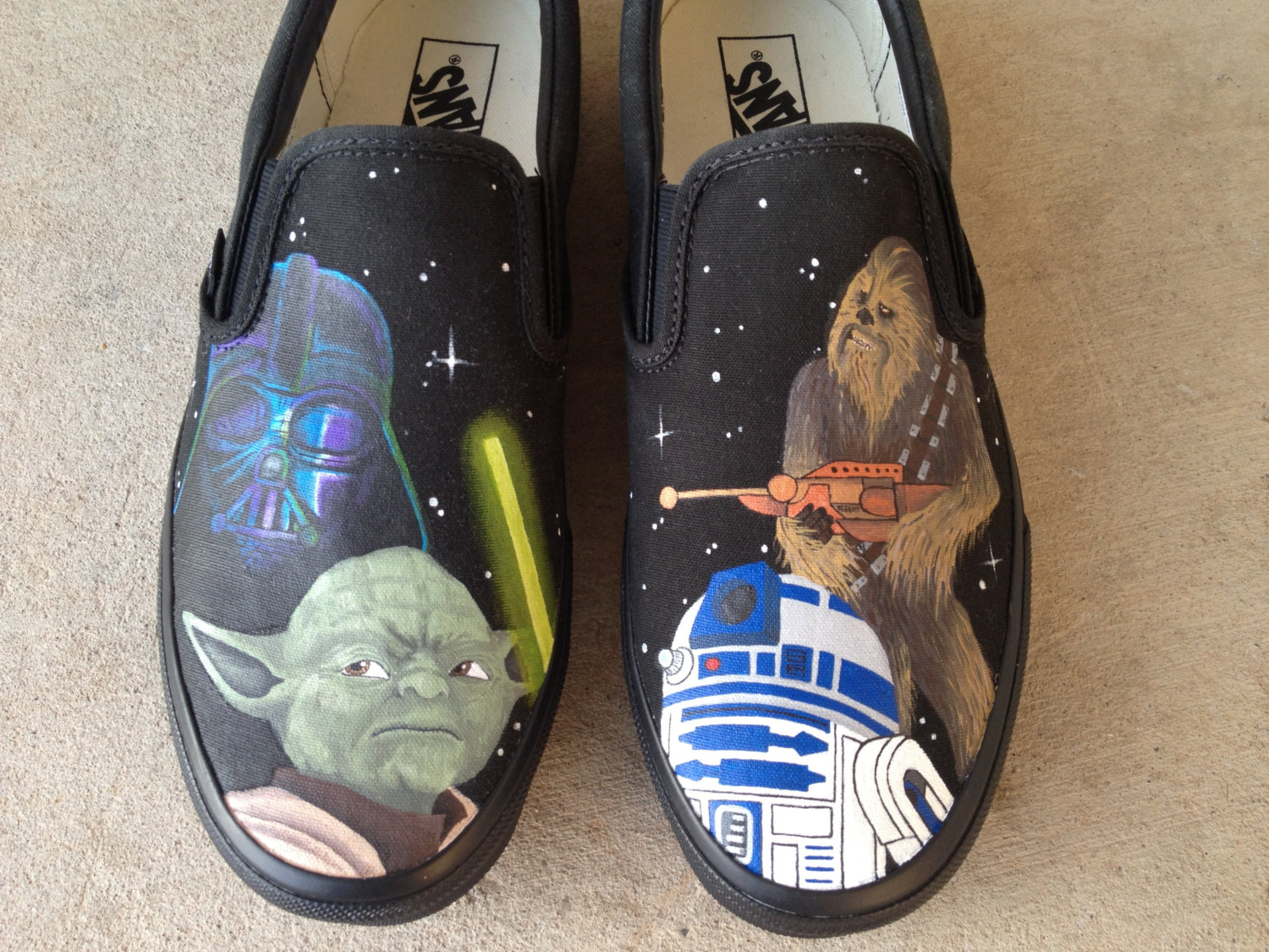 Drawn shoe star war #6