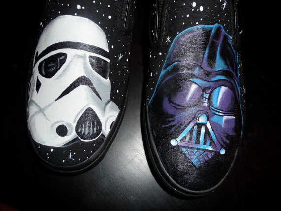 Drawn shoe star war #11