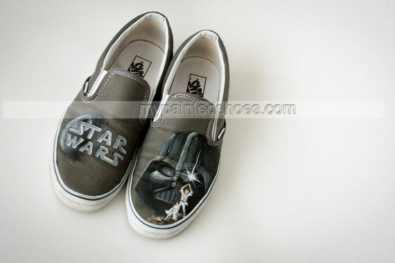 Drawn shoe star war #9