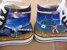Drawn shoe street fighter Deviantart Fighter Street Street by