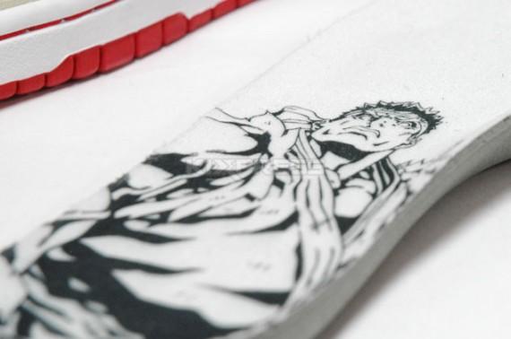 Drawn shoe street fighter Pack Dunk 'Ryu' SB Nike