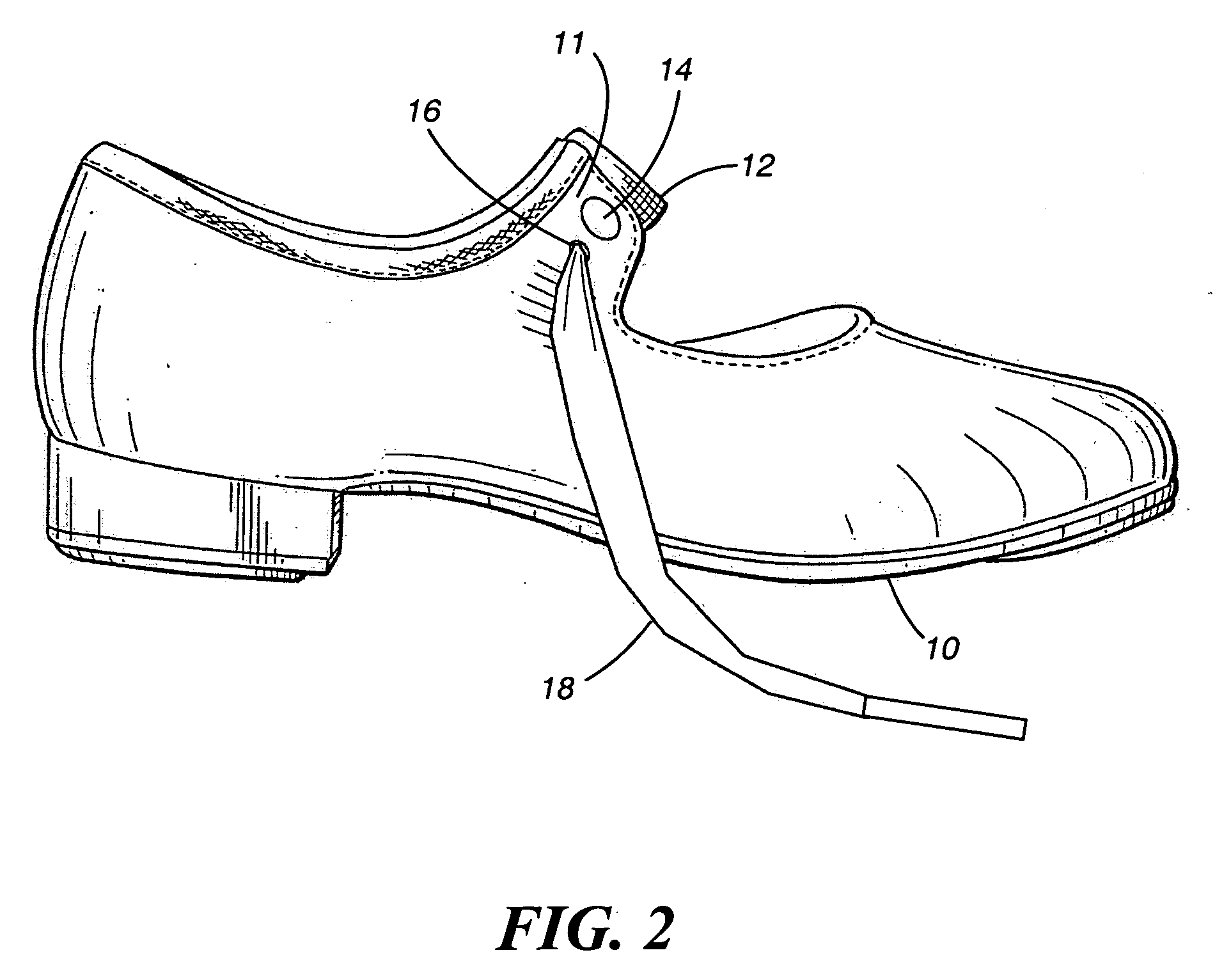 Devices shoe Patent  fastening