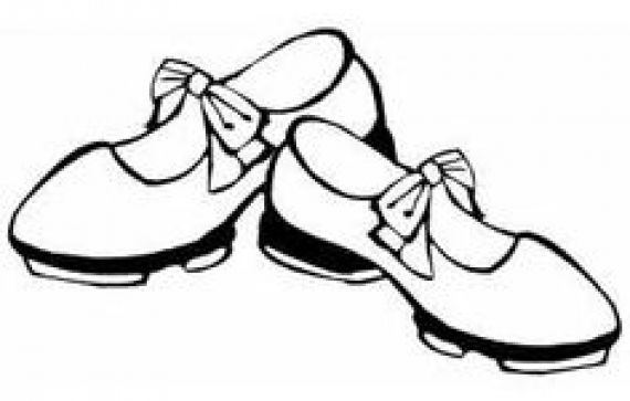 Shoes Tap Baby Clipart Tap