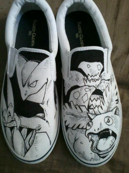 Drawn shoe them #10