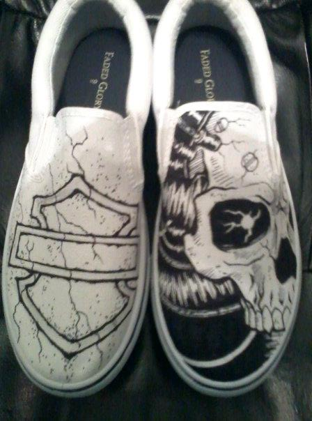 Drawn shoe them #5