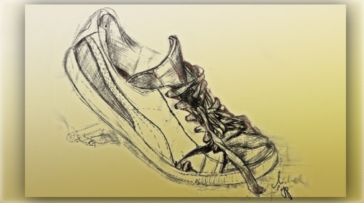 Drawn shoe trainer Shoes org of of discover