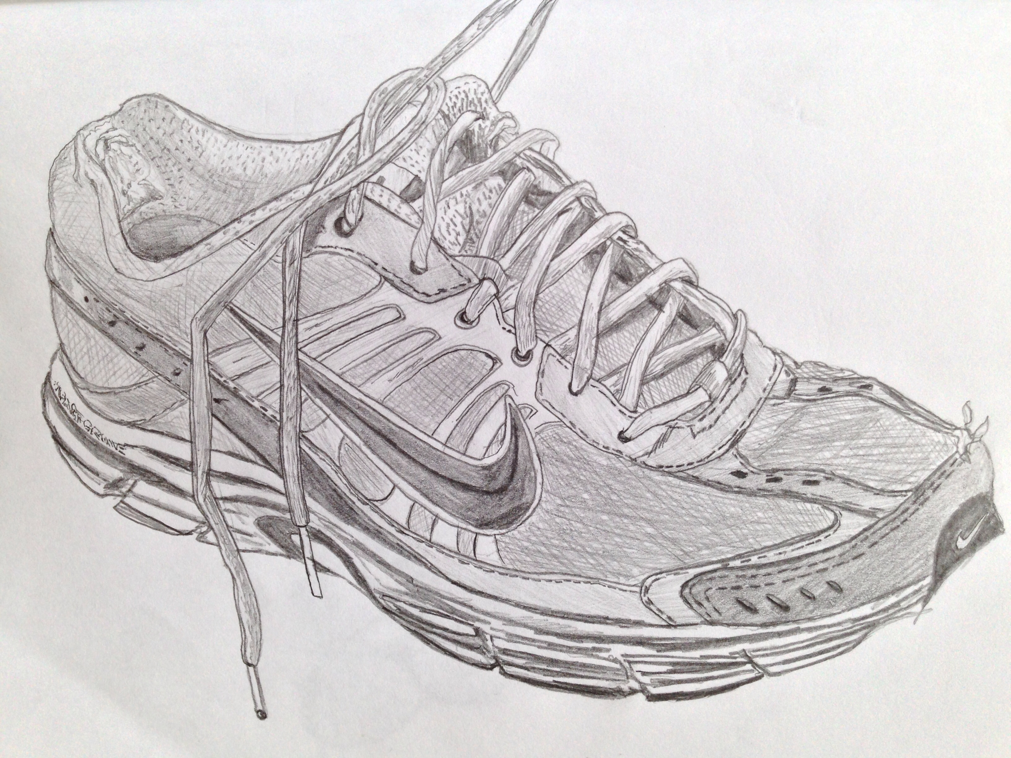 Drawn shoe trainer Drawings and My · Pinterest
