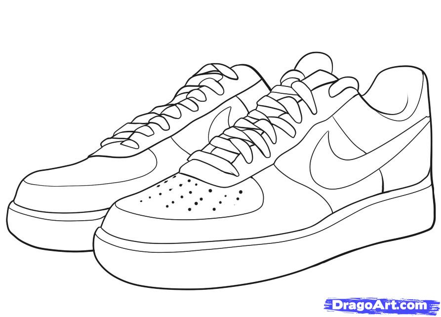 Drawn shoe trainer Force How air draw Draw
