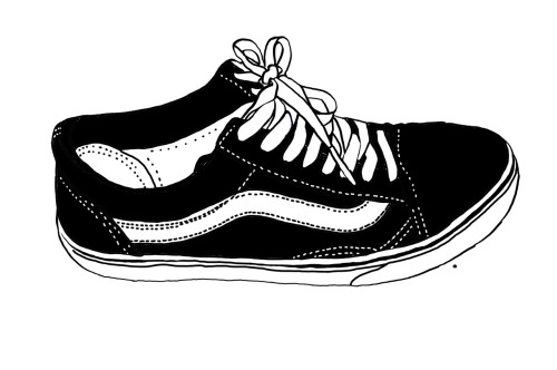 Drawn shoe van Shoes Search Drawing Vans Drawings