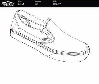 Drawn shoe vans graphic Design  Graphic 2015 Vans