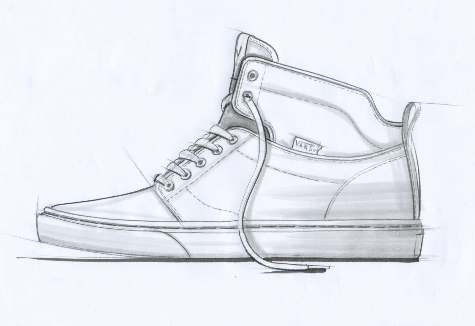 Drawn shoe vans logo To Shoes And How Van