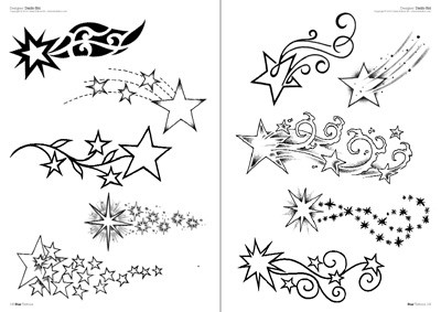 Drawn shooting star Stars drawings stars Tattoo Tattoo