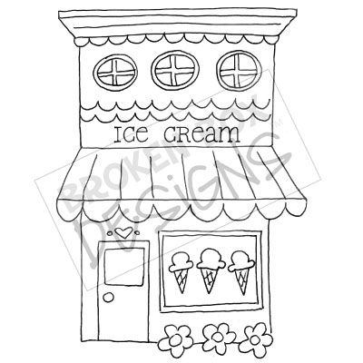 Drawn shop Cream  for drawn for