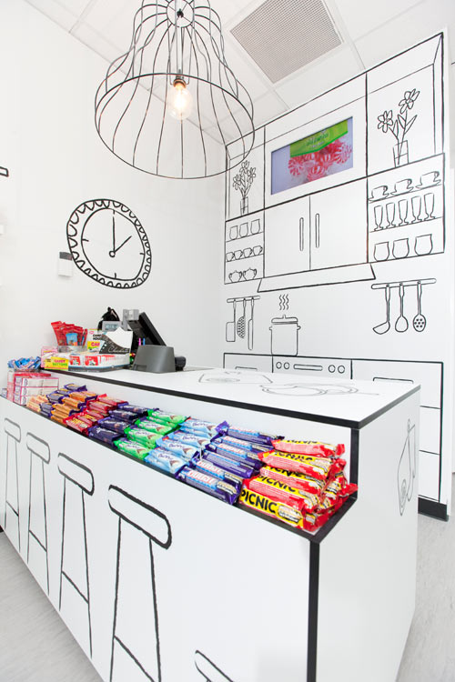 Drawn shop Room Design Group by Red