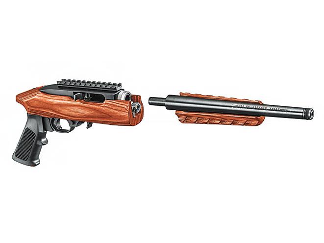Drawn shotgun .22 Takedown Pistol ruger charger 22
