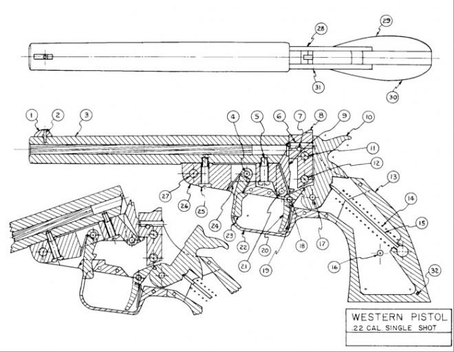 Drawn shotgun .22  Best Pinterest zelf jacowesterndesign