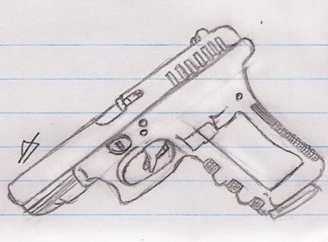 Drawn shotgun glock 17 Explore kiabe1 2 17 9mm