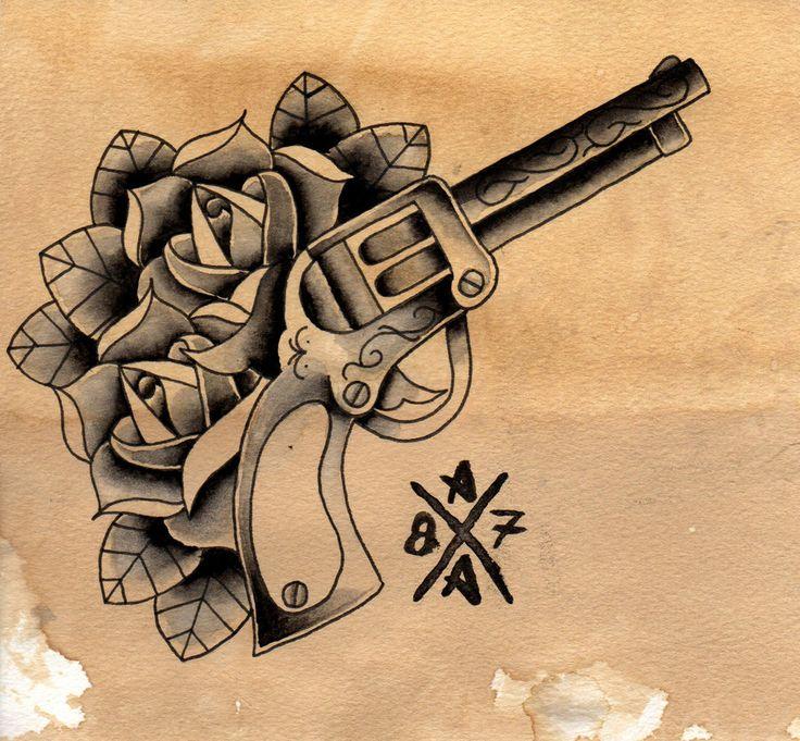 Drawn shotgun old gun 22 best Pinterest bullets