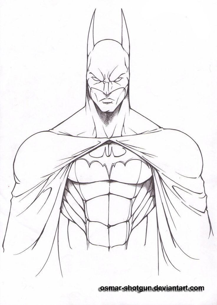 Drawn batman pencil #3