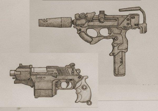Drawn shotgun pencil  Pencil Drawings In Gun