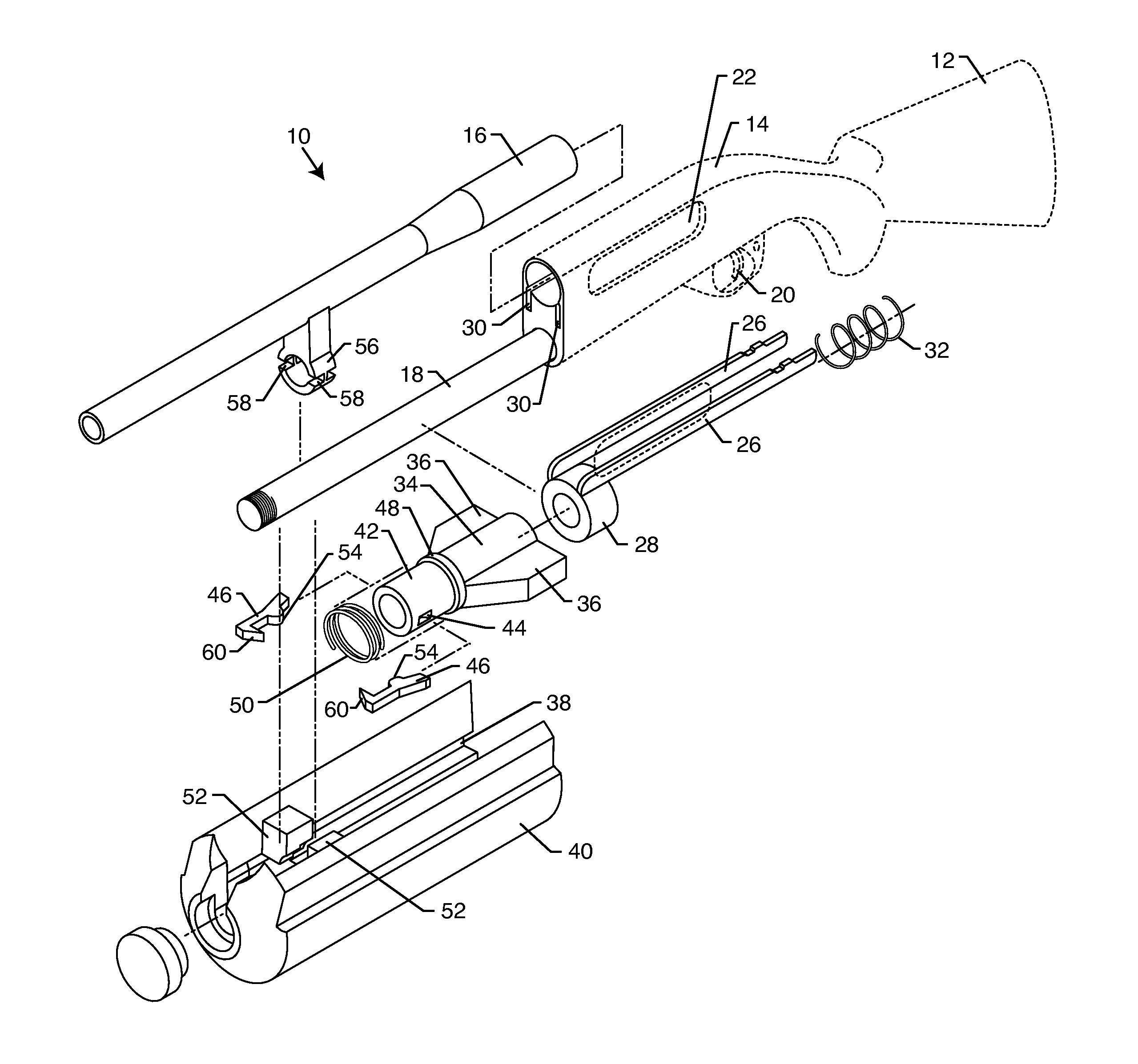 Drawn shotgun pump action Drawing shotgun Patent action Google