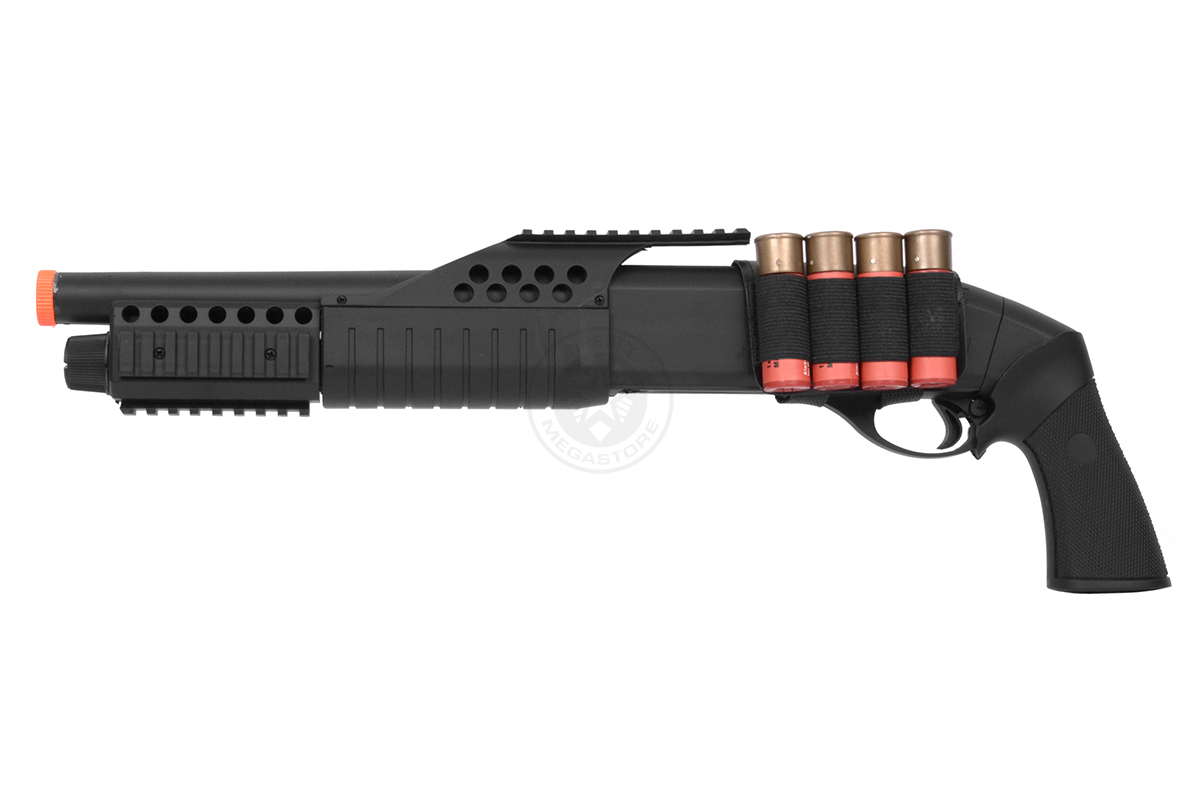 Drawn shotgun pump action GA Pump Off FPS