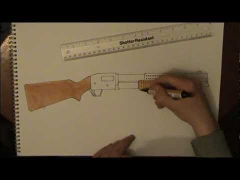 Drawn shotgun revolver gun Draw: YouTube to to Trench