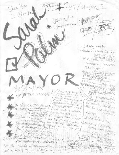 Drawn shotgun sarah palin The Palin paper are Sheimer