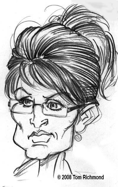 Drawn shotgun sarah palin Palin (by Sarah Palin Richmond)