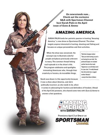 Drawn shotgun sarah palin Speech interview her mocked Immoral