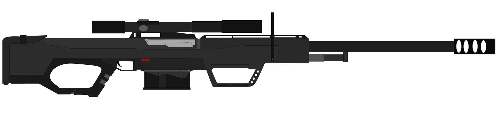 Drawn shotgun sniper rifle Cal Rifle 50 Aspire443 Sniper