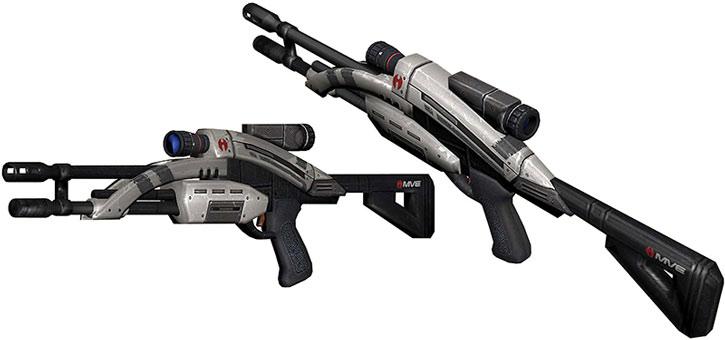 Drawn shotgun sniper rifle 2 Guns sniper Mantis model