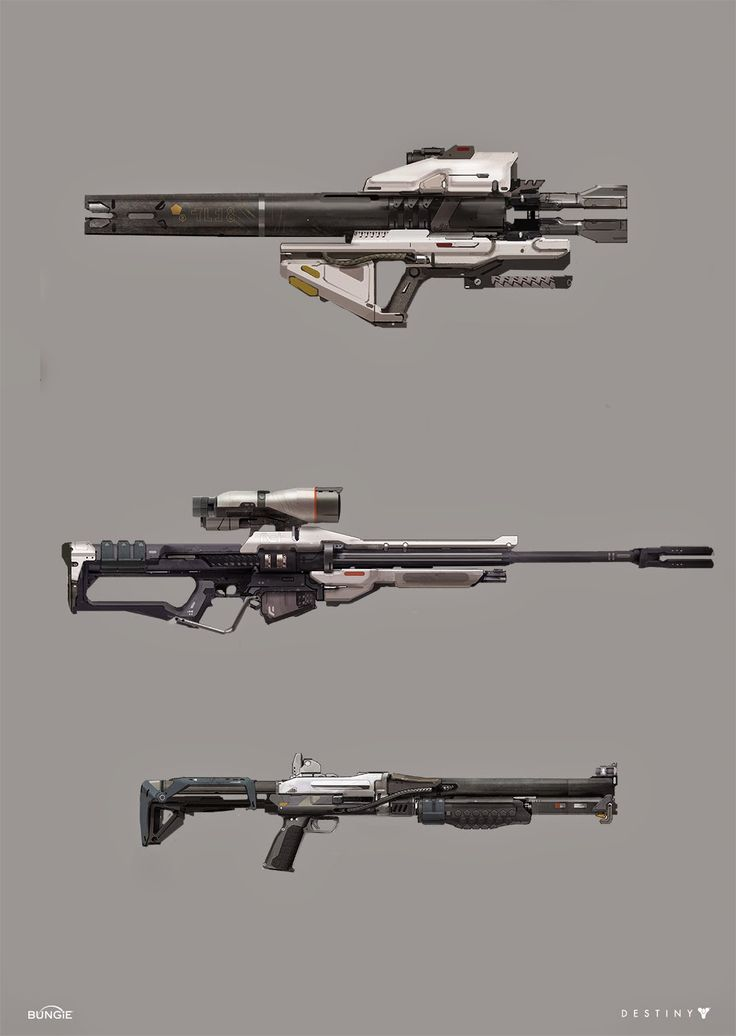 Drawn shotgun sniper rifle References Weapon this Find and