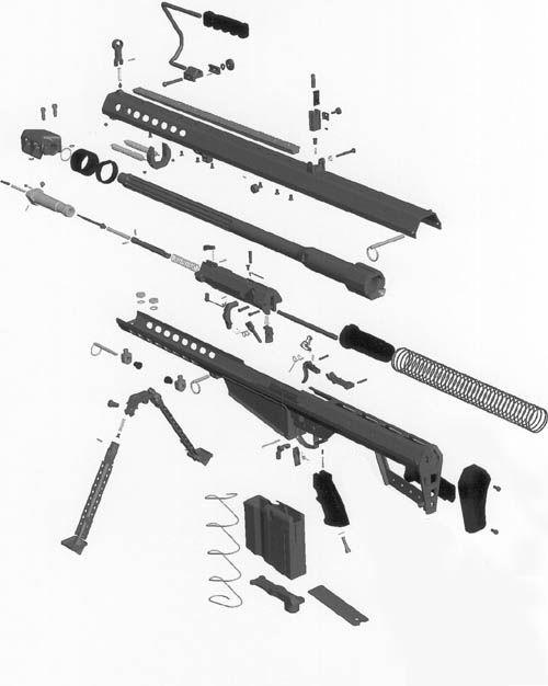 Drawn shotgun sniper rifle Section Google cross Logo Google