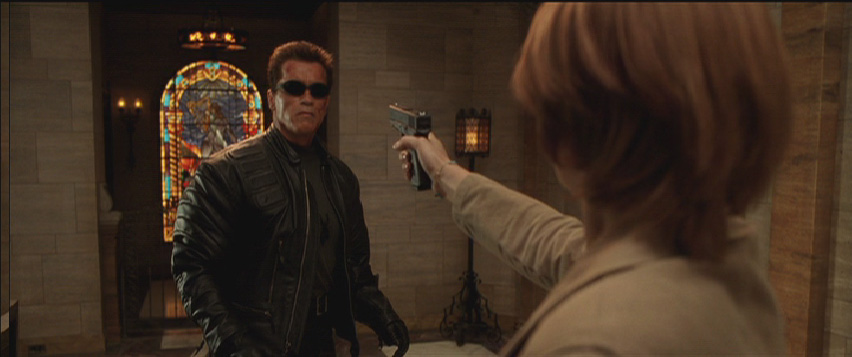 Drawn shotgun terminator 3 Terminator Downfall Wrong with is